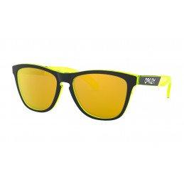 OAKLEY Frogskins® Crystalline Collection Translucent Retina Burn 24k OO9013-F555