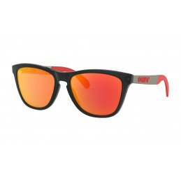 OAKLEY Frogskins® Mix MotoGP Collection Matte Black Prizm Ruby OO9428-0955