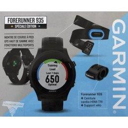 PACK MONTRE Garmin Forerunner 935 + HRM TRI + SUPPORT VELO