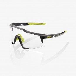 LUNETTES 100% Speedcraft Gloss Black Photochromic Lens