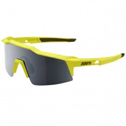 100% Speedcraft Short - Soft Tact Banana Black Mirror Lens