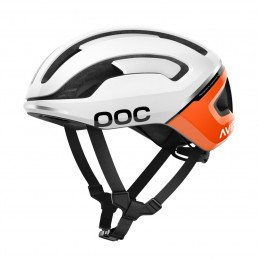 CASQUE POC OMNE AIR SPIN WHITE ORANGE
