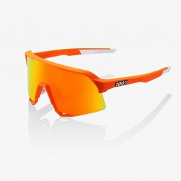 Lunettes 100% S3 MVDP Limited Neon Orange HiPER Red Multilayer Mirror Lens Van Der Poel