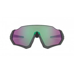Lunettes Oakley FLIGHT JACKET Matt Steel Prizm jade road OO9401-1537