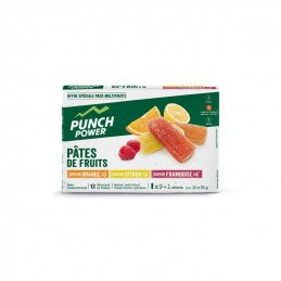 x10 Punch Power PÂTES DE FRUITS - PACK SPORT MULTIFRUIT
