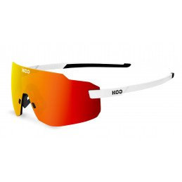 Lunettes Kask Koo White Red