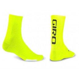 Chaussettes Giro HCR Team jaune noir