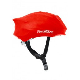 Couvre Casque Velotoze Impermeable Rouge