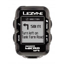 Coffret compteur vélo GPS Lezyne Micro GPS HR cardio