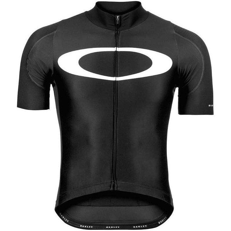 Maillot Oakley Premium Branded Road noir