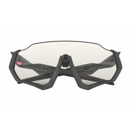 Lunettes Oakley FLIGHT JACKET Clear Black Iridium Photochromic Activated OO9401-0737