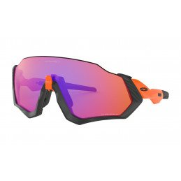 Lunettes Oakley FLIGHT JACKET Prizm Trail Neon Orange OO9401-0437