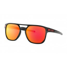 Lunettes Oakley Latch™ Beta Polished Black Prizm Ruby OO9436-0754