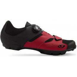 Chaussures Giro Cylinder rouge noir