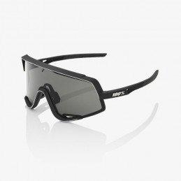 Lunettes 100% Glendale - Soft Tact Black - Smoke Lens